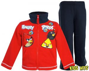 "Dres Angry Birds ""Angry Team"" czerwony 10 lat"