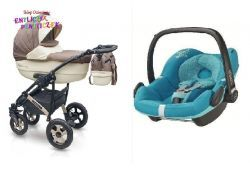 Camarelo Sevilla Special Collection 3w1 MAXI COSI PEBBLE